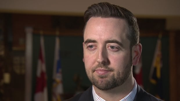 Andrew Parsons justice minister