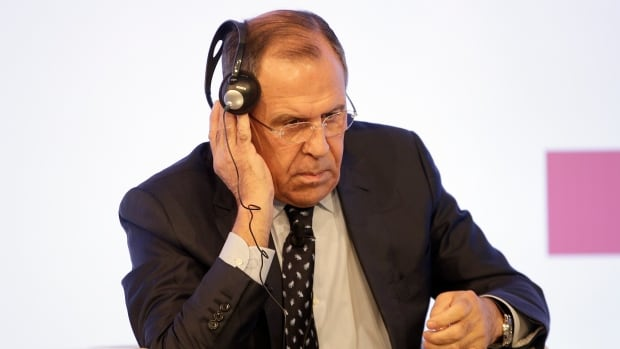 "Russian Foreign Minister Sergei Lavrov's last name, if translated from Ukrainian to Russian, comes out as ""sad little horse."""