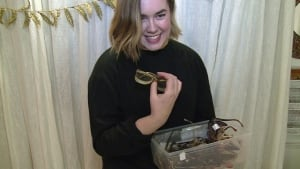 Katherine MacDonald with eyeglasses