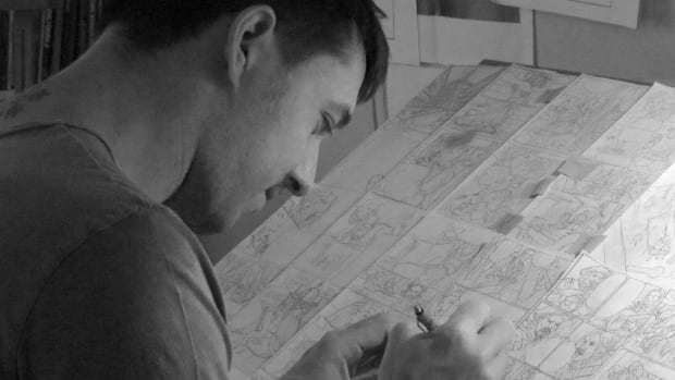 Kurt van der Basch is a self-described army brat from Nova Scotia who was one of the storyboard artists on Star Wars: The Force Awakens.