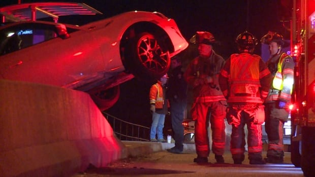 Lions Gate Bridge crash