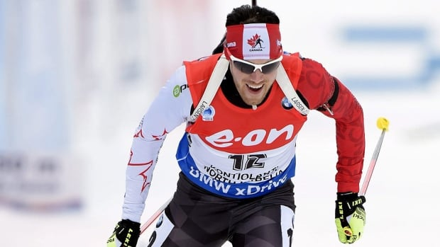 Canada's Nathan Smith was the lone Canadian to crack the top-20 in Friday's World Cup biathlon, finishing 15th in the men's 10-kilometre sprint in Ruhpolding, Germany. The Calgary native's time of 22 minutes 57.4 seconds was one minute behind winner Johannes Thingnes Boe, who led a Norwegian sweep of the podium in 21:57.5.