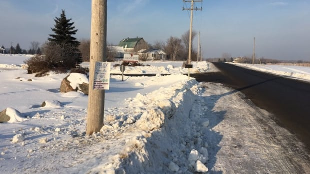 High Road joins Albion Road near the Rideau Carleton raceway. Area residents and the councillor say they've seen vehicles parked on both sides that block mailboxes and driveways on some days.