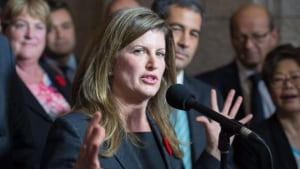 Rona Ambrose, former federal minister of health