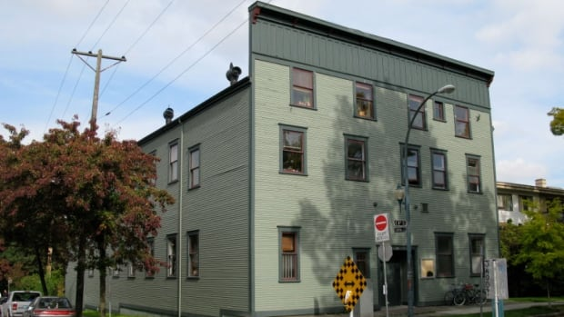 The Western Front arts centre on 8th Ave. The executive director of the Western Front Society says the $1.5 million they received from Rize has enabled them to buy their building.