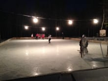 outdoor rink