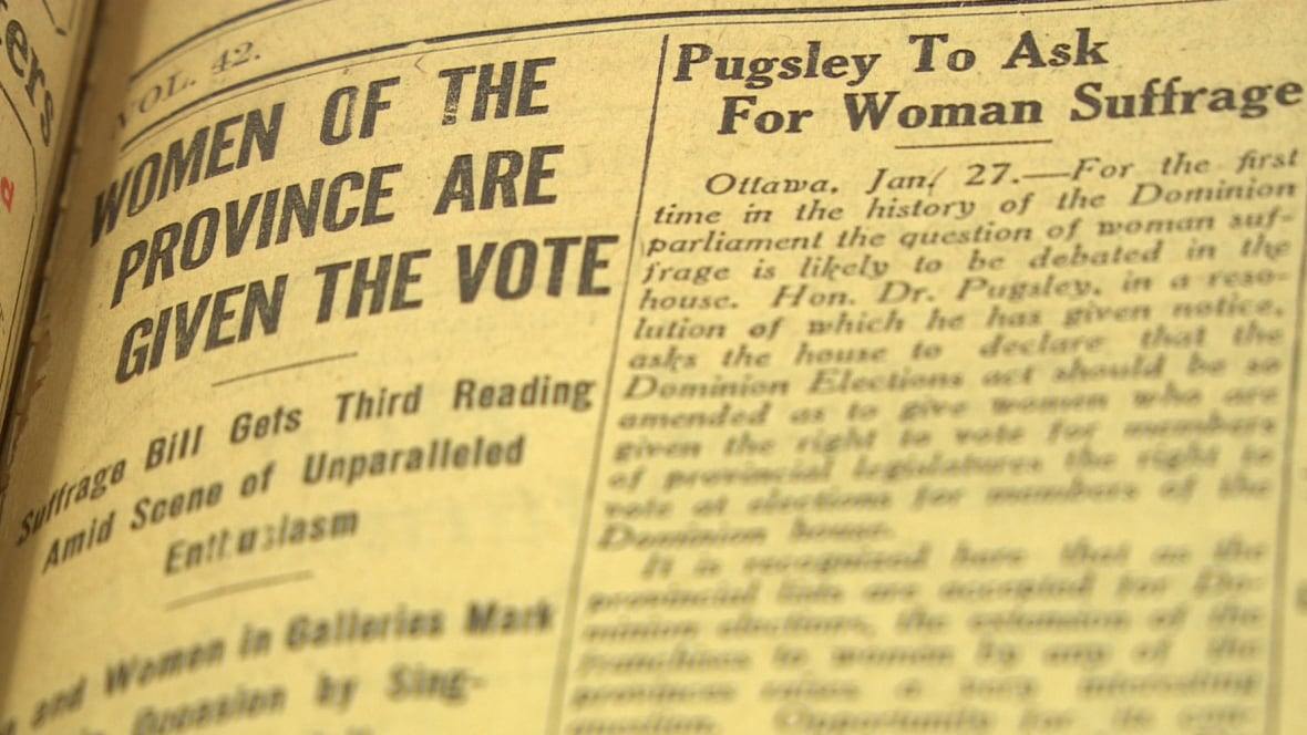 woman suffrage in canada essay Free essay on woman suffrage available totally free at echeatcom, the largest free essay community.
