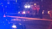 Death involving party bus Burrard and West Hastings