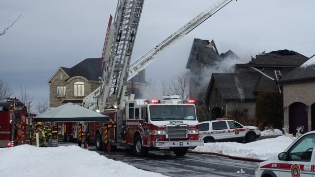 No one was injured in the fire.