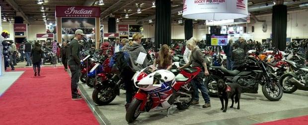 Motorcycle exhibition in Calgary
