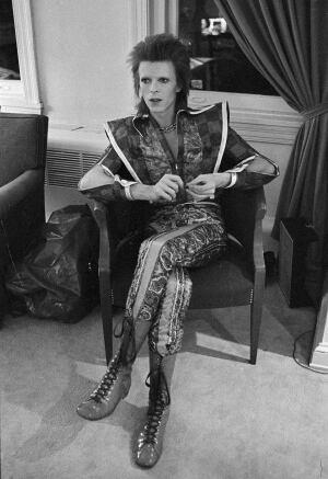 David Bowie as Ziggy