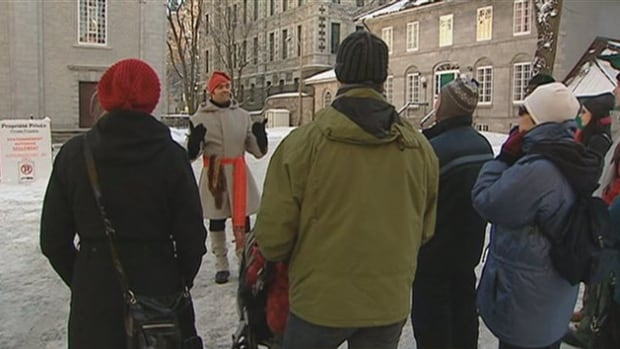 As of Jan. 1, tour guides in Quebec City are no longer required to have a licence in order to give tours.