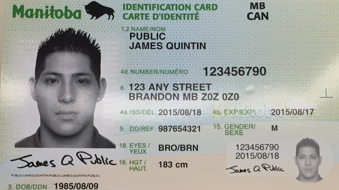 Manitobans To Receive All In One Id Cards Starting In 2017
