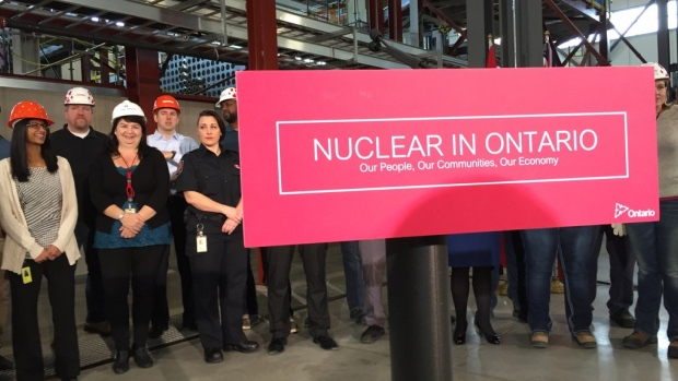 """Proceeding with the refurbishment at Darlington will ensure that nuclear continues to be Ontario's single largest source of power,"" says Energy Minister Bob Chiarelli."