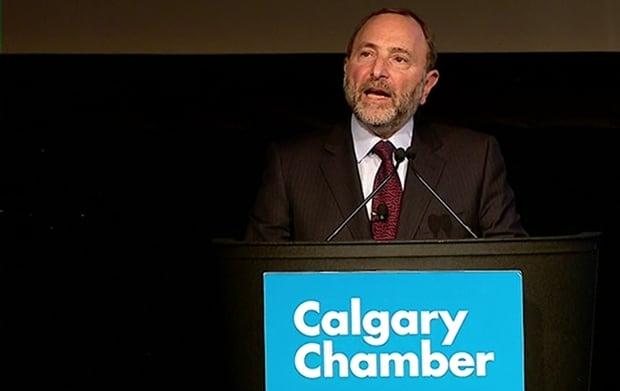 Gary Bettman Calgary Chamber