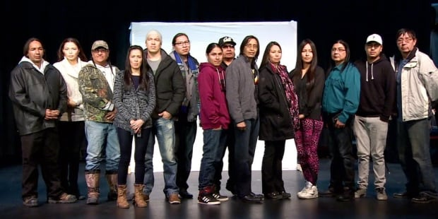 Maskwacis extras on The Revenant