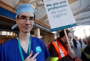 Britain Doctor Strike
