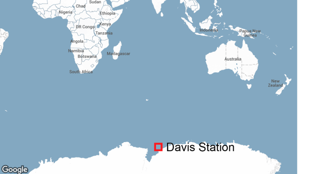 A remote ice shelf near Australia's Davis research station was the area where David Wood, who lives in Canada, was injured in an accident before he died, says the Department of the Environment's Australian Antarctic division.
