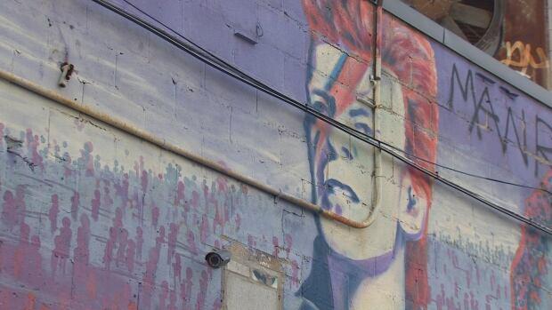 david bowie grafitti bathurst and bloor