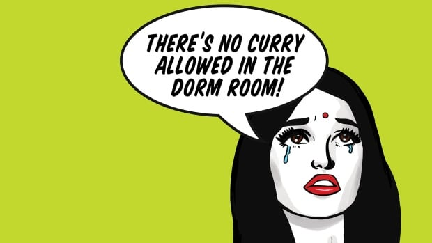 No curry in the dorm room!