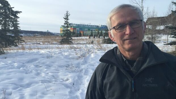 """Matt Law lives near a temporary parking lot expected to open just south of the Alberta Children's Hospital. He hopes the impact of the """"necessary development"""" can be reduced for nearby residents."""