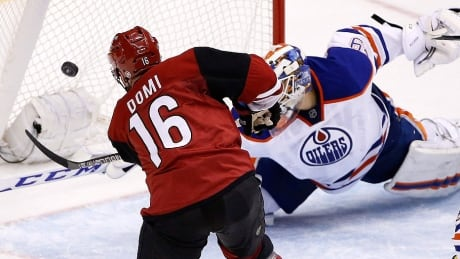 Max Domi Hat Trick Paces Coyotes In OT Win Over Oilers
