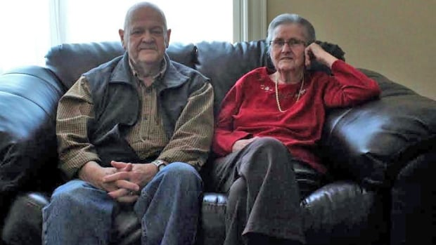 Pat Peterson visits his wife Joan at Shannex Parkland every day.