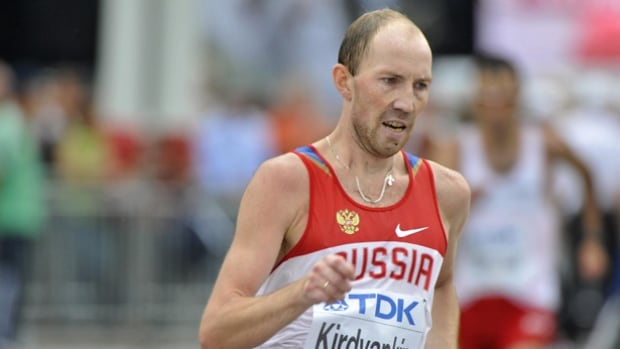 Russia's Sergey Kirdyapkin won a gold medal in the 50km race walk at the 2009 IAAF world track and field championships, the year the IAAF reportedly found out about rampant doping in his country.