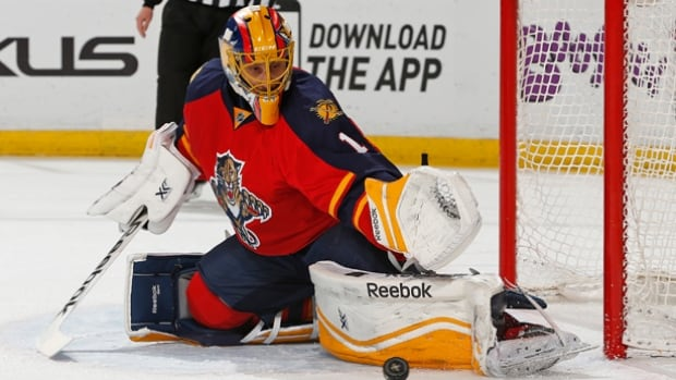Roberto Luongo has raised his game to a different level, with the three-time Vezina Trophy finalist again putting himself in the conversation for NHL top goalie honours. On Wednesday, the 36-year-old will try to lead the Panthers back to the win column in Calgary after his old team, the Canucks, halted Florida's 12-game win streak and Luongo's personal-best nine-game run on Monday in Vancouver.