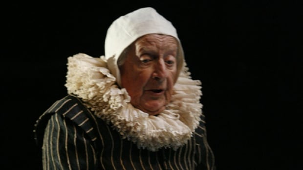 Actor William Needles in his last performance at the Stratford Festival. He played Castruchio in The Duchess of Malfi in 2006.