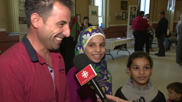 Syrian Almsri Althaif says he wants to find work and see his children get a good education in Newfoundland and Labrador.