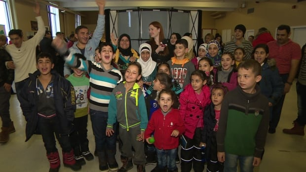 Around 150 Syrian refugees arrived in Newfoundland and Labrador since late December, including the children who are pictured here.