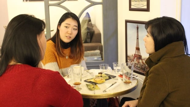 Wheat-based pastries and other breads have caught on with trendy South Korean women, who can be seen enjoying Caffe Americanos and brightly coloured macarons in cafes across Seoul.