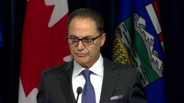 Alberta Finance Minister Joe Ceci said affected government employees were told about the wage freeze on Wednesday.