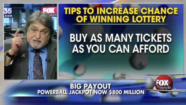 Seven-time lottery winner Richard Lustig joined the hosts of Fox & Friends earlier this week to give viewers his advice on how to win the Powerball jackpot.