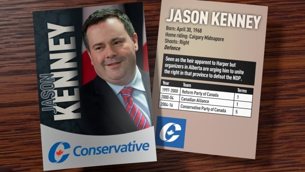 Jason Kenney trading card