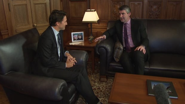 Prime Minister Justin Trudeau and Nova Scotia Premier Stephen McNeil met on Wednesday for the first time since Trudeau took office as prime minister.