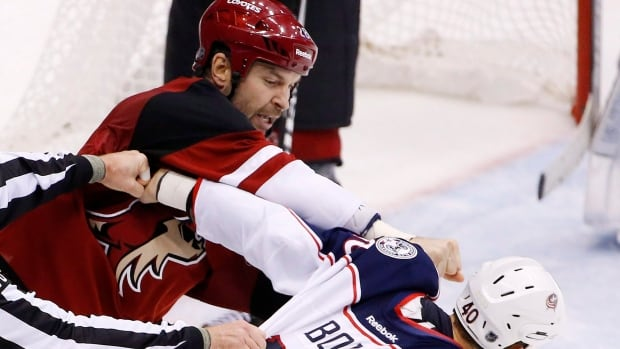 Coyotes' John Scott, selected as an All-Star game captain, was sent to Springfield of the AHL, but will likely be back with the NHL team before the All-Star game January 31.