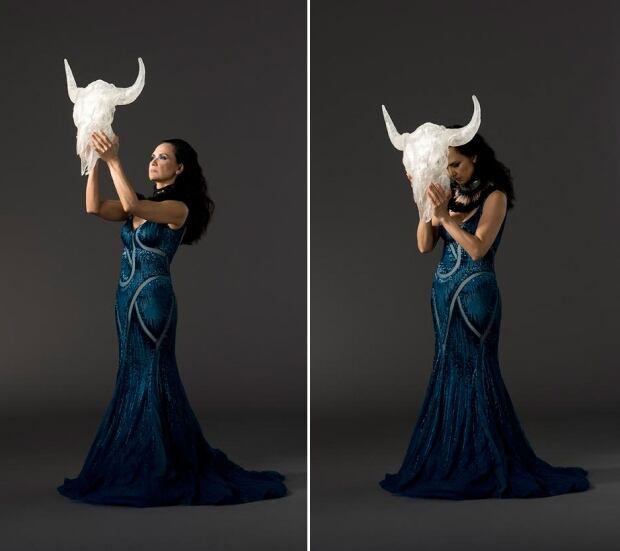 Dana Claxton - Buffalo Woman