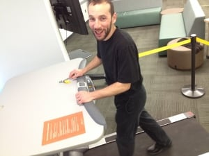 Dan Rubinstein treadmill writer in residence Carleton University