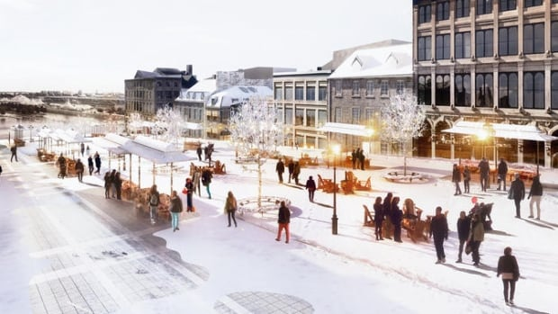 Mayor Denis Coderre wants to make Place Jacques-Cartier active 365 days a year.