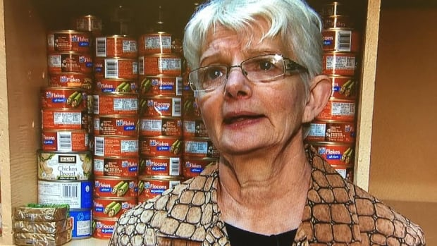 Glace Bay Food Bank co-ordinator Sandra MacPherson says the list of clients is growing almost daily as the falling Canadian dollar leads to increased food prices.