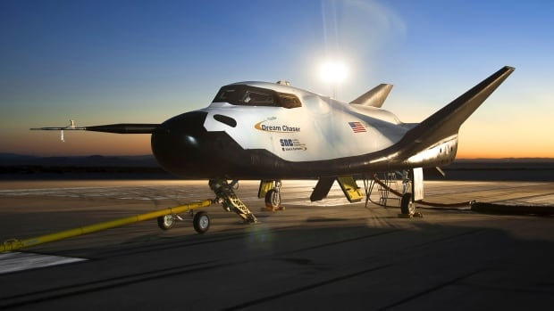 The Sierra Nevada Corporation (SNC) Dream Chaser flight vehicle will be able to transport materials from the ISS back to Earth.
