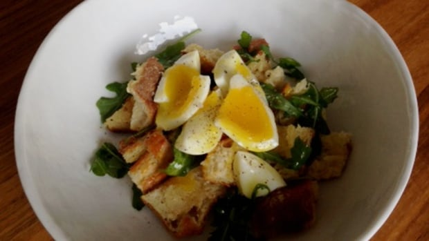 This quick and easy eggs and toast recipe can be put together in a matter of minutes, says Radio Active's food columnist Doreen Prei.