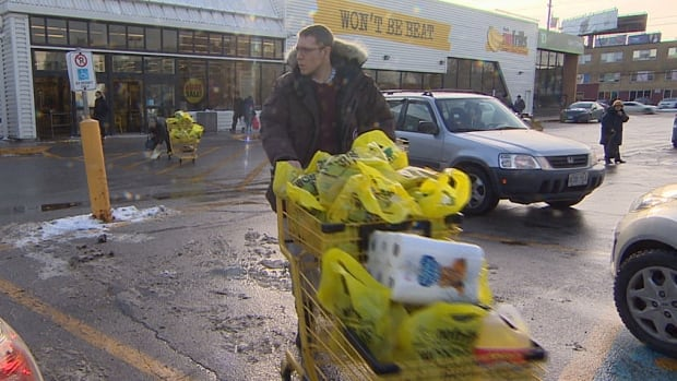 Many grocery shoppers in Toronto are searching for deals as the price of produce and other goods climbs due to the low Canadian dollar.