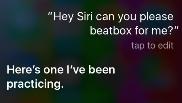 Compared to actual beatboxers, Siri is not very good – but this seems to be precisely what makes asking the program to beatbox so entertaining.