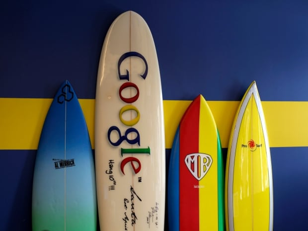 Google surfboards california