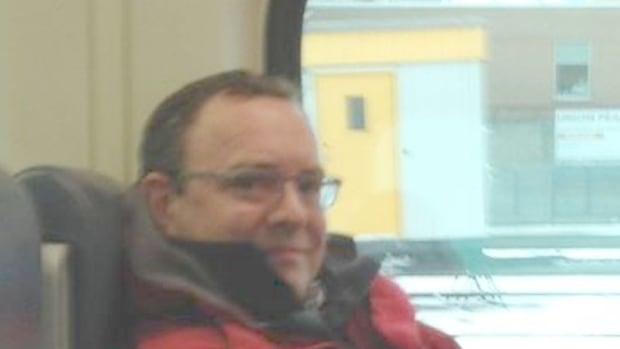 Photo released by Toronto Police of man accused of performing an indecent act on the Go Train on Jan. 12.