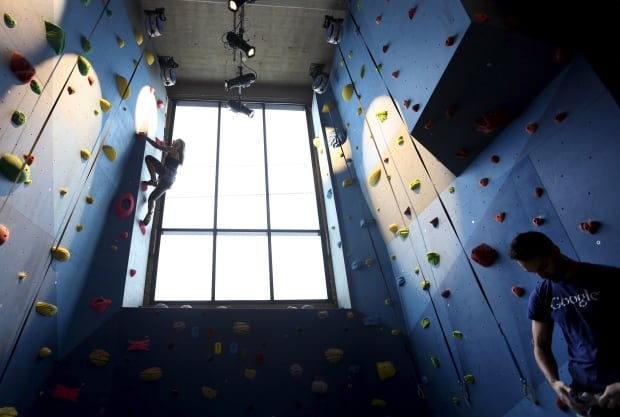 google climbing gym
