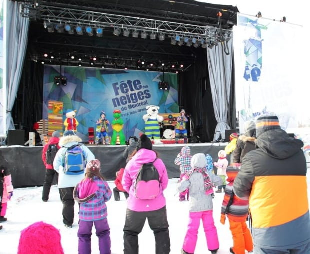 fetes des neiges kid shows